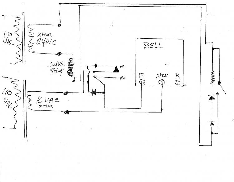 zenith doorbell wiring diagram download free software install doorbell diode ... doorbell wiring diagram light #11