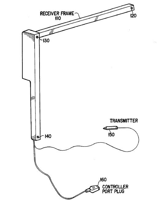 3d ultrasonic positioning circuit - schematic