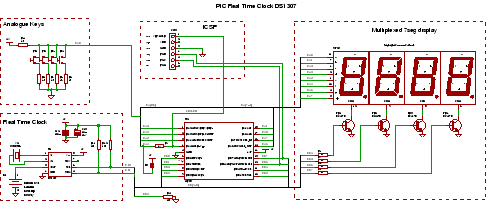 real time clock ic - schematic