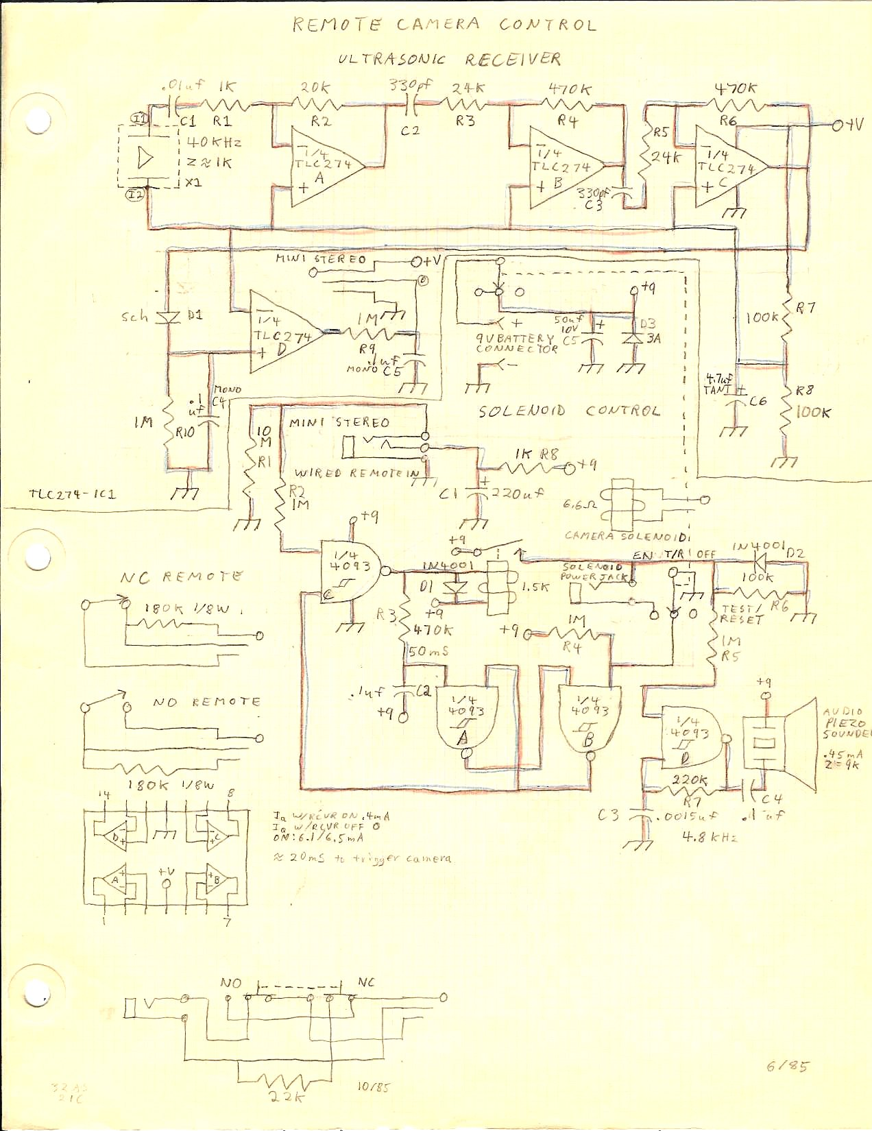 Results Page 21 About Schmitt Trigger 74hc14 Searching Circuits Edgetriggered 555 Monostable Multivibrator Camera
