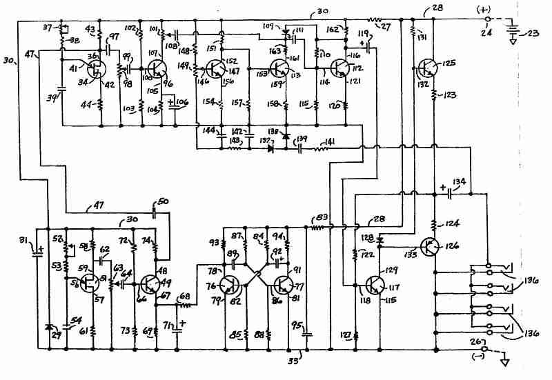ultrasonic rat repellent - schematic