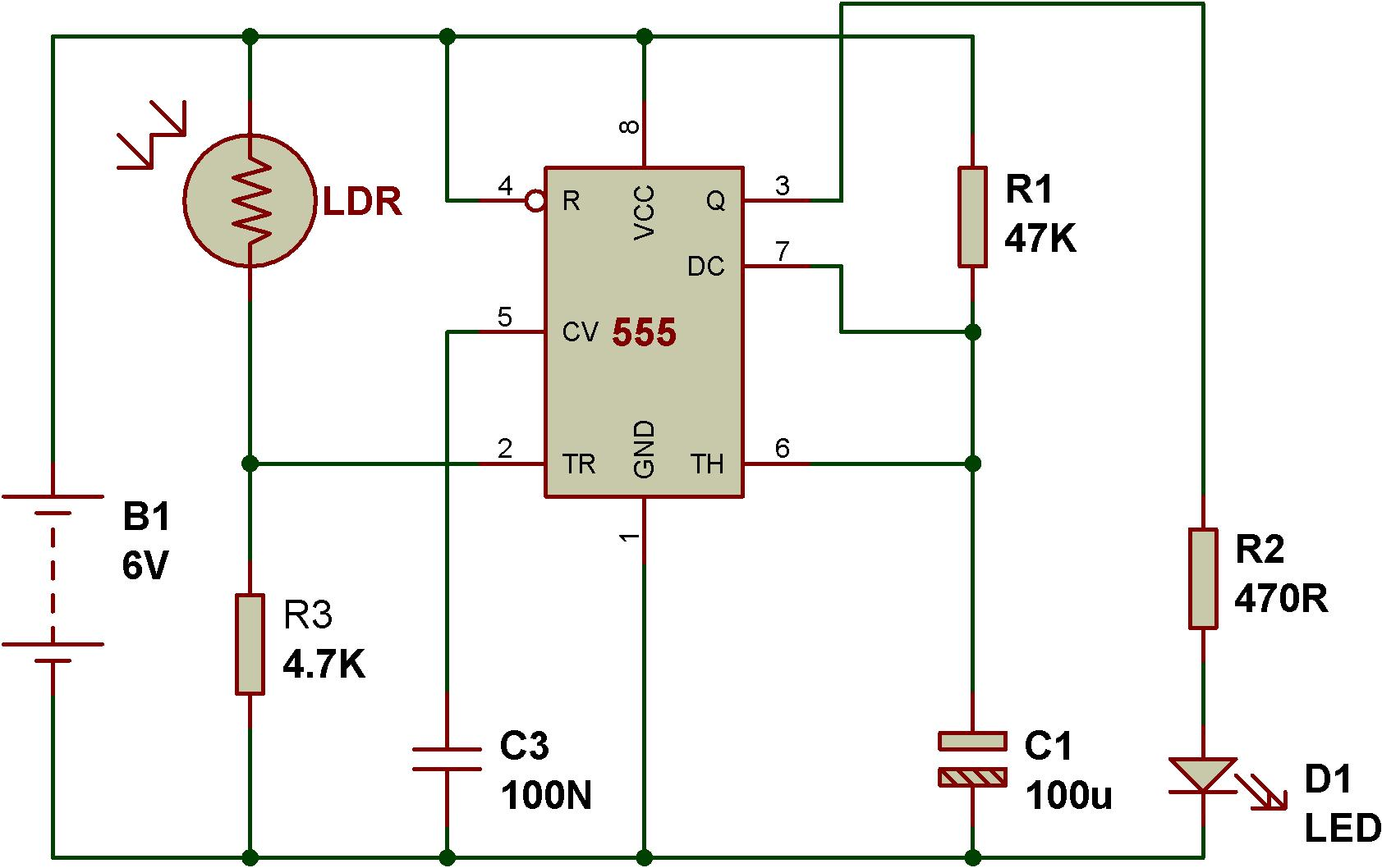 5 Pole Relay Schematic