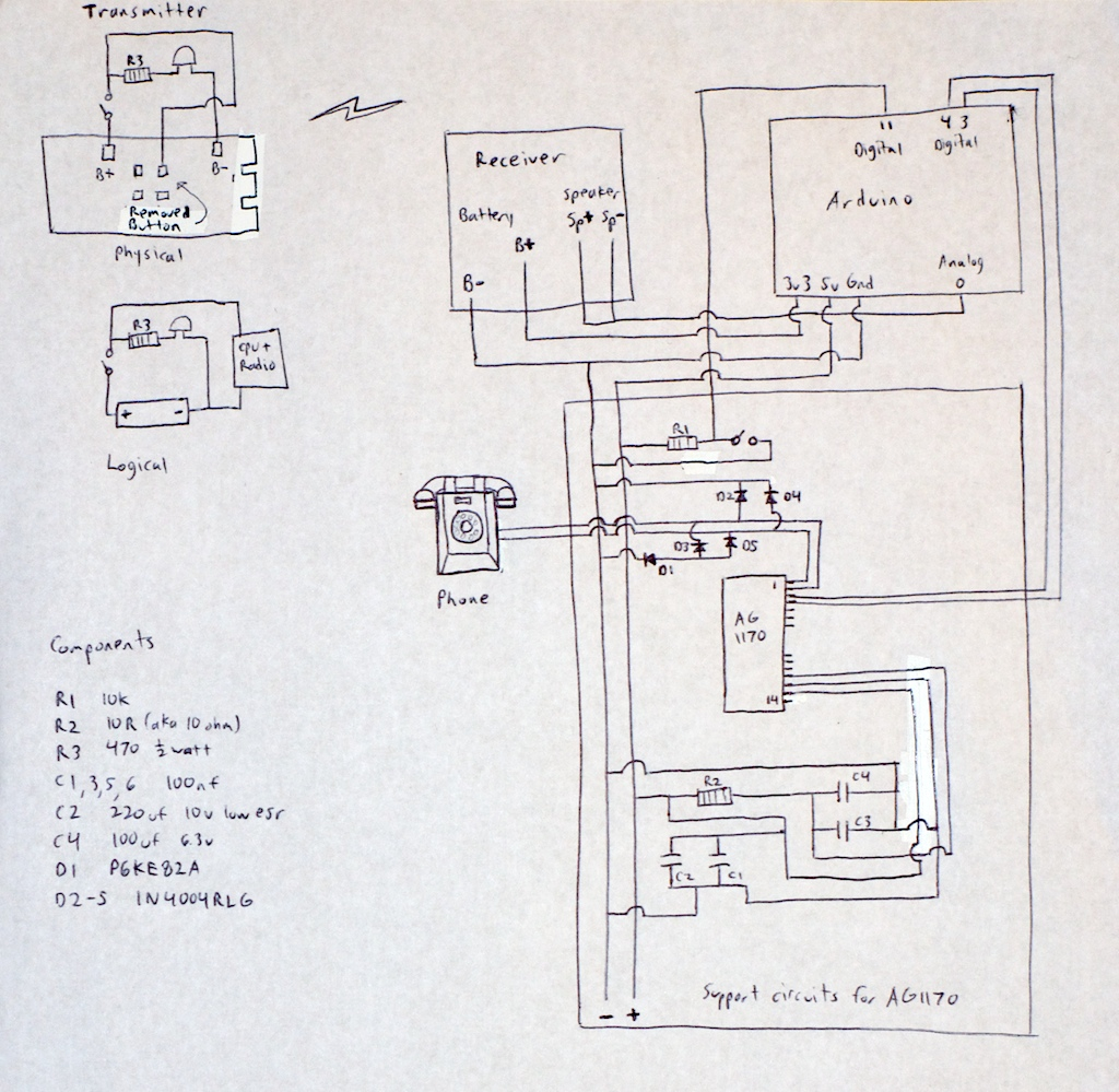 Doorbell Phone - schematic