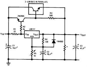 current limiter circuit diagram - schematic
