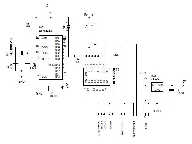 doorbel - schematic