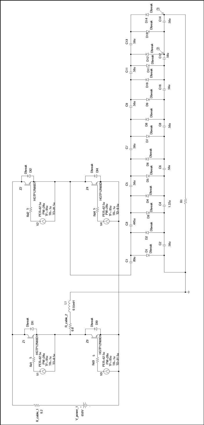 h bridge voltage multiplier at low voltage under