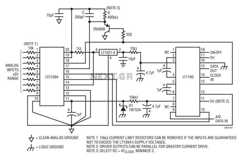 computer interface circuit page 2   computer circuits