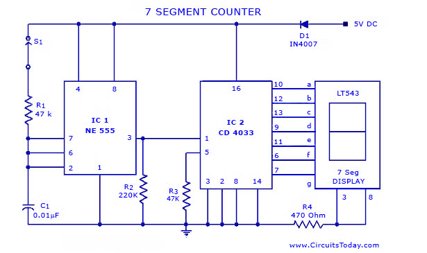 Lcd Led Display Circuit Page 2 Digital Circuits Next Gr
