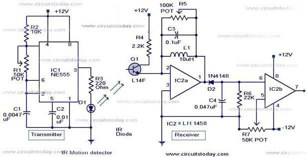 Infrared Circuit Page 5 Light Laser Led Circuits Next Gr