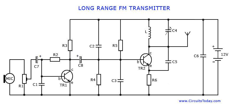 Long Range FM Transmitter -