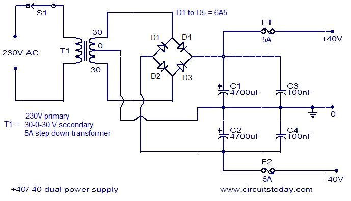 150 Watt Amplifier Circuit Under Repository Circuits