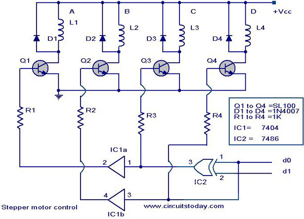 Stepper Motor Circuit Page 7 Automation Circuits