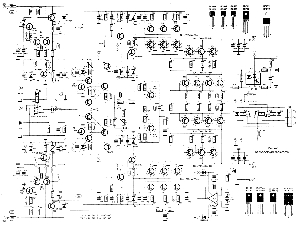 scematic diagram panel  2000w amp circuit