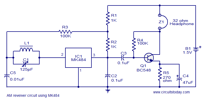 Greetings Newbie Help For Led Flasher Circuit as well Long Range Fm Transmitter likewise 27mhz Walkie Talkie Experiment furthermore Reading Circuit Diagrams moreover Electronicguideandmore blogspot. on simple one transistor am radio