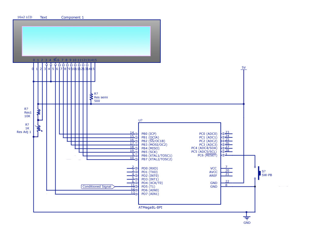 Frequency Counter Schematic Diagram : Frequency meter circuit page counter circuits
