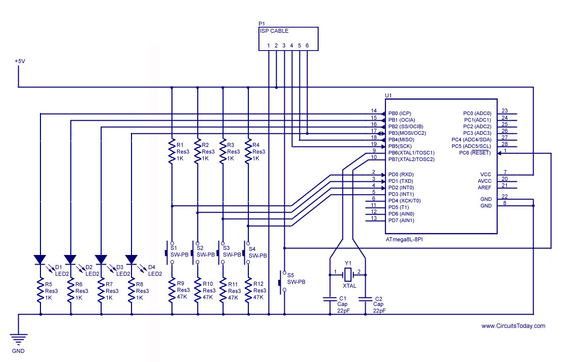 Microcontroller Circuit Page 5 Microcontroller Circuits