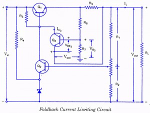 circuits u003e controlled transistor series regulator with overload and rh next gr Audio Amplifier Circuit Diagram