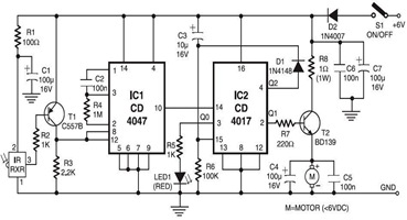 Infrared toy car motor controller circuit diagramthumbg asfbconference2016 Choice Image