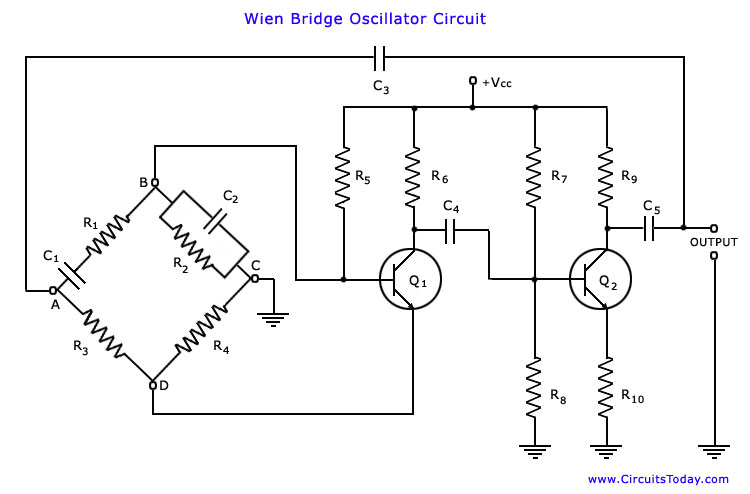 wien bridge oscillator under repository-circuits