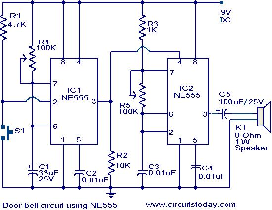 555 Timer Circuit Page 10 Other Circuits Next Gr