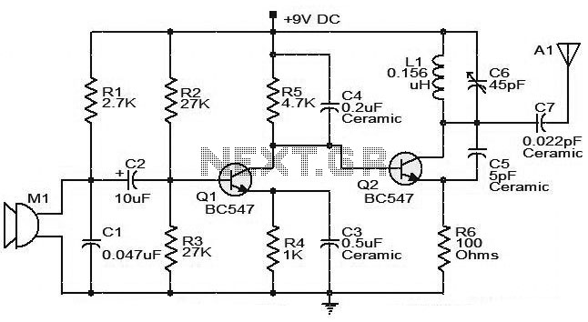 medium power fm transmitter circuit under repository-circuits