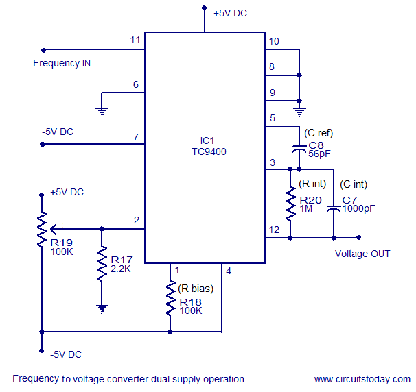 electronic circuits page 20 next gr frequency to voltage converter using 555 frequency to voltage converter using 555 timer