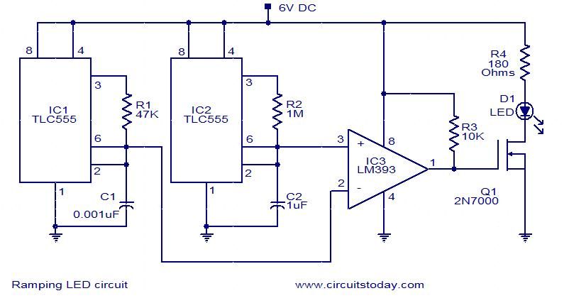 Index4 on electronic timer circuit