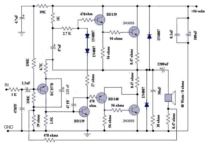 results page 56, about \u0027very sensitive audio amplifier\u0027 searchingmotional feed back amplifier this versatile amplifier circuit