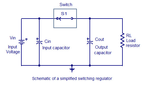 Few Switching regulator circuits - schematic