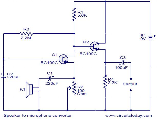 pc microphone wiring diagram wiring diagrams and schematics ece 476 final report