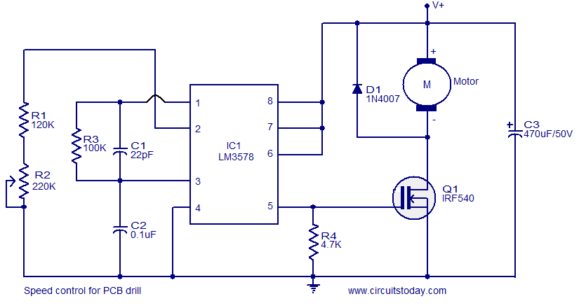 Automatic Battery Charger Circuit additionally 3 Phase Voltage Stabilizer Circuit Diagram besides 12V NE555  M Controller also Solar Induction Heater Circuit together with Lm317 tester. on scr voltage regulator circuit diagram