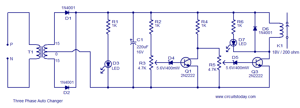 Relay Operating Voltage