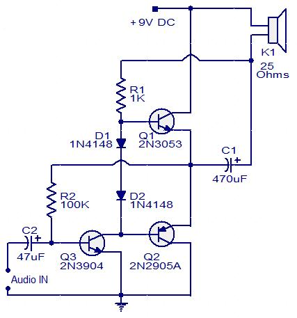 Pleasant Audio Amplifier Circuit Page 22 Audio Circuits Next Gr Wiring 101 Vieworaxxcnl