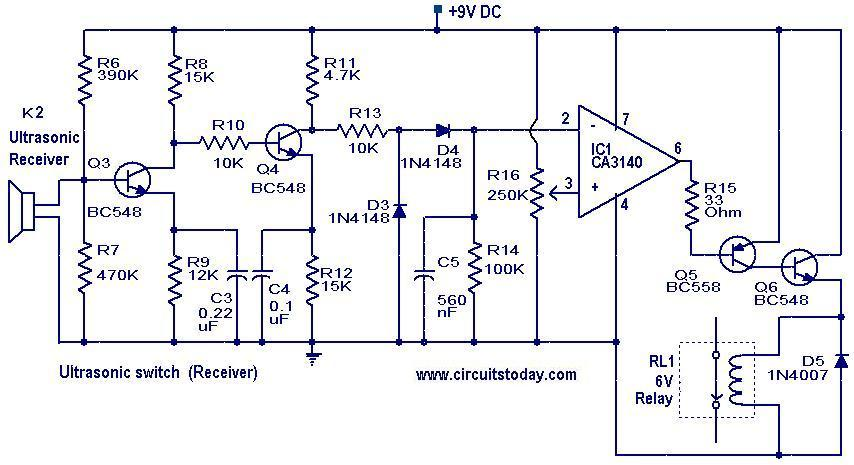 Ultrasonic Circuit Page 4 Audio Circuits Next Gr