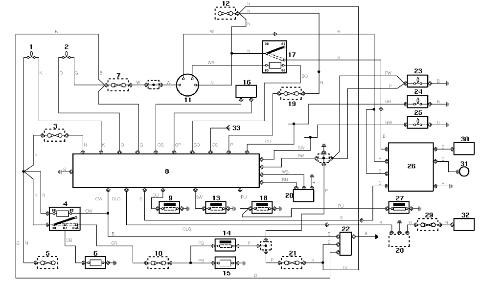 electric car schematic diagrams circuits  electric  free