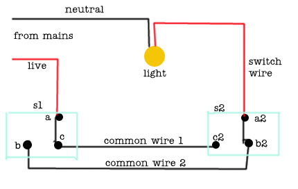 two way switch wiring diagram lights images simple home way switch wire electrical circuit diagram features for