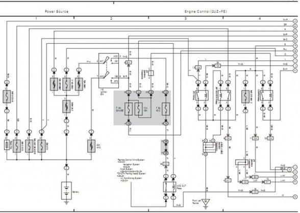 2006 Toyota 4Runner Electrical System Wiring Diagram 588x419 100 [ hilux horn wiring diagram ] car circuit page 4 automotive klr 650 wiring diagram 2008 at suagrazia.org