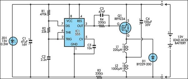 Make This  m Based Dc Motor Speed as well 24v Scr Battery Charger furthermore 161 Open Design Charge Regulator Project besides High Power Control With Arduino And Tip120 as well How To Make Simple 12 Volt Led Lantern. on how to make current controlled 12 volt