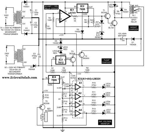 battery charger circuit page 16   power supply circuits