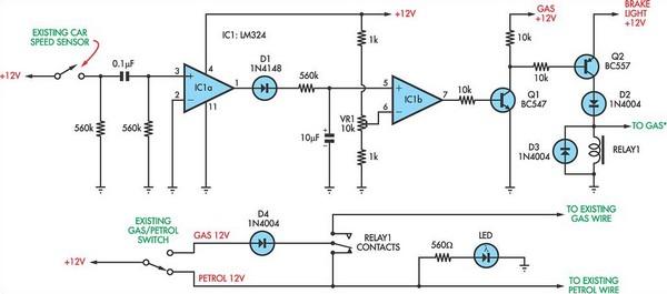 gas sensor circuit page 2 sensors detectors circuits. Black Bedroom Furniture Sets. Home Design Ideas