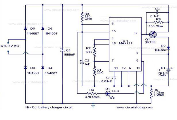 battery charger circuit page 11 power supply circuits next gr iPhone Charging Cable Wiring Diagram ni cd battery charger super fast circuit