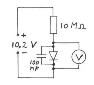 Diodes for crystal receivers - schematic