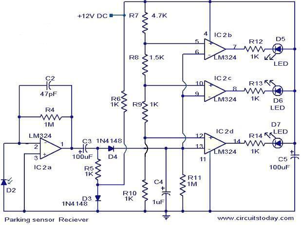 Lm324 For Parking Sensor Under Repository Circuits 37766