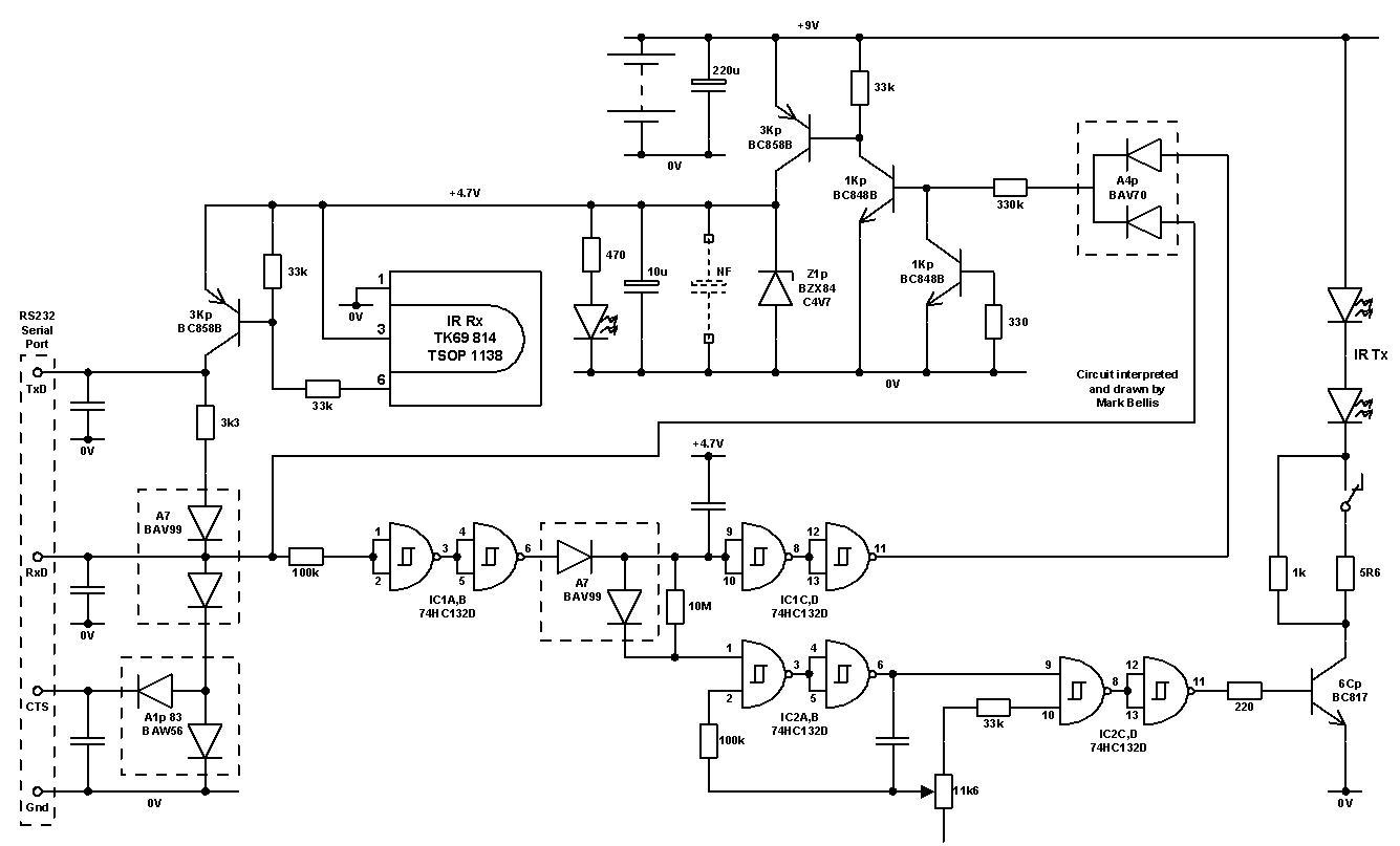 LEGO robotics - schematic