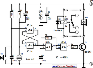 3 Phase Sequence Indicator Circuit Diagram