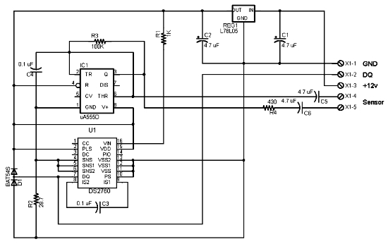Circuit Diagram Of Soil Moisture Sensor
