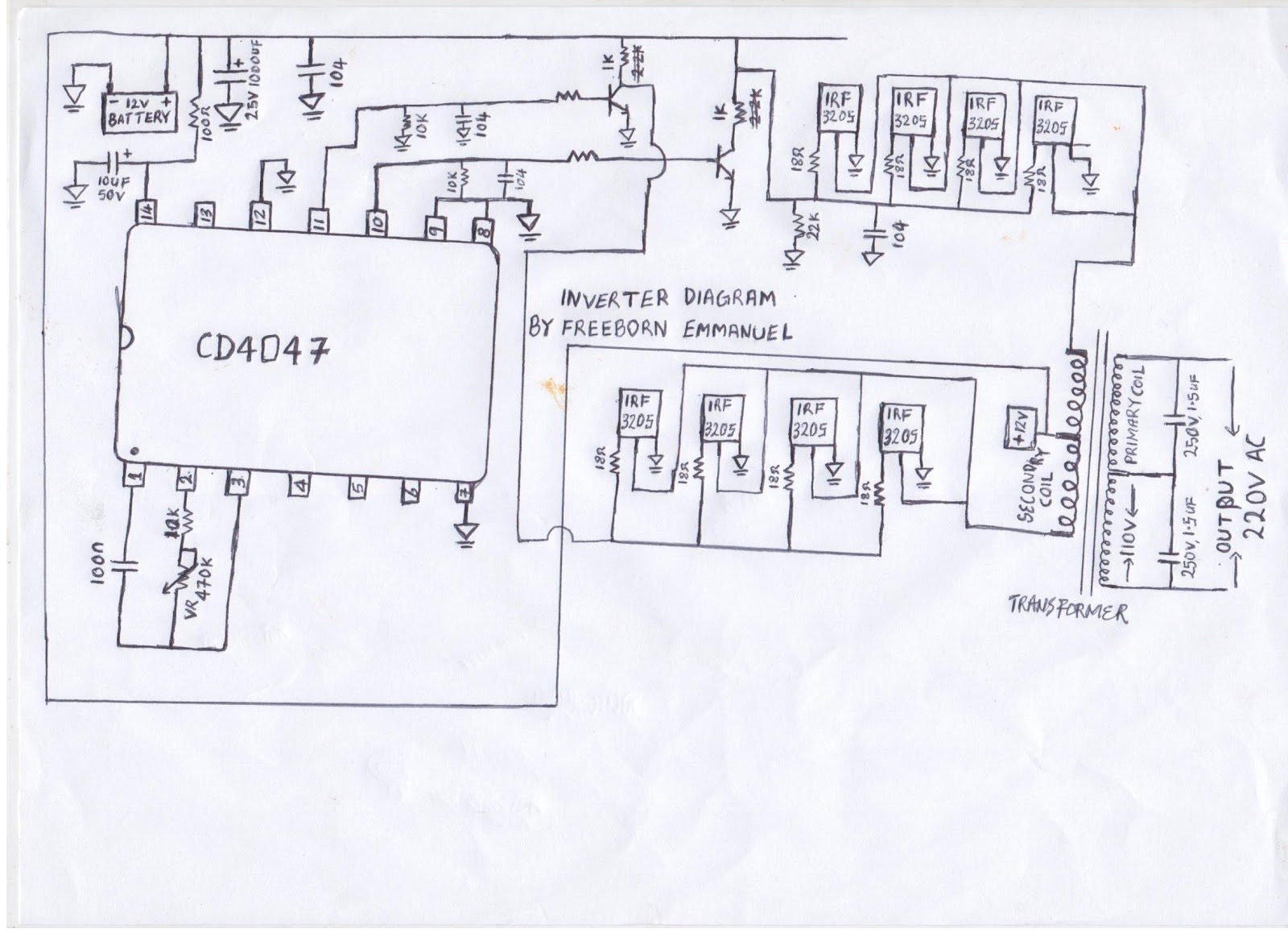 Inverter Circuit Page 2 Power Supply Circuits L Filter Diagram How To Build An
