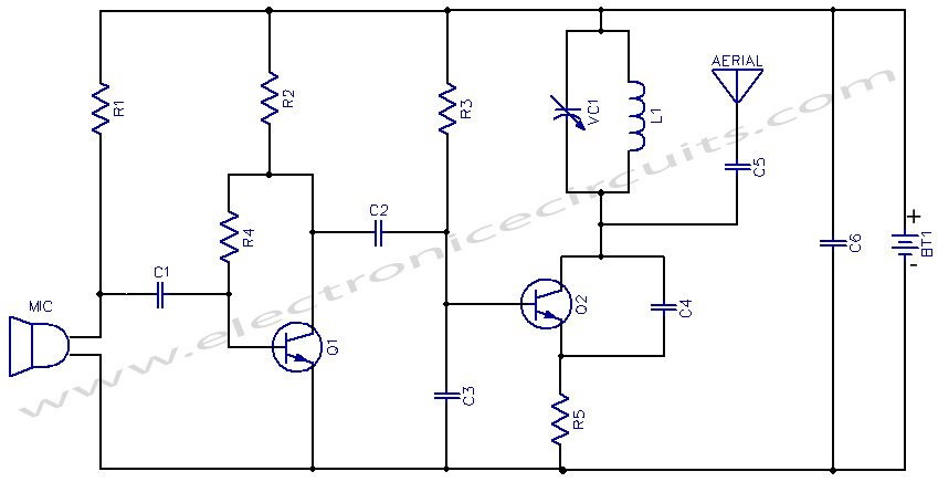 fm circuit page 5 : rf circuits :: next.gr fm transmitter circuits diagram schematics