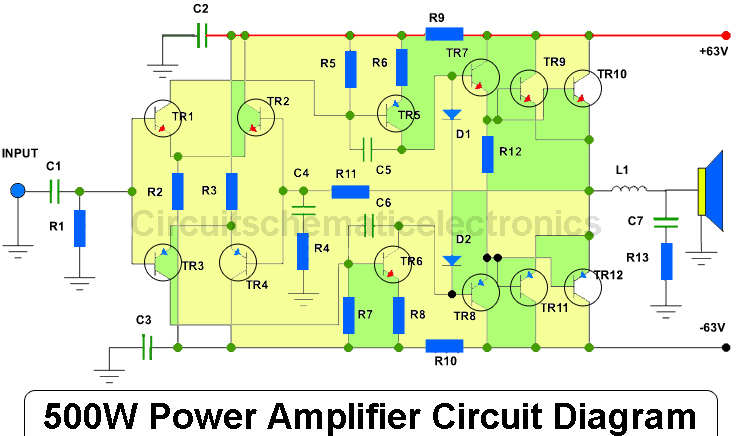 Audio Amplifier Circuit Page 17 Audio Circuits Next Gr