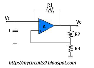 ASTABLE MULTIVIBRATOR USING OP AMP